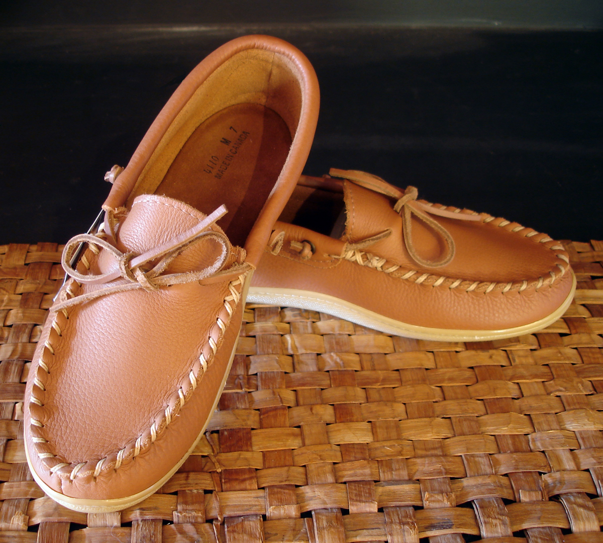 how to clean laurentian chief moccasins