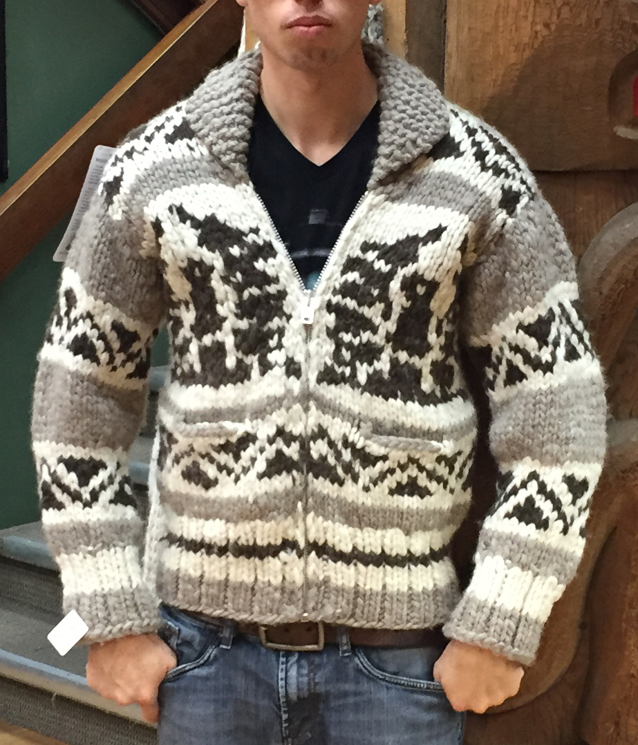 4814804db94e Genuine Handmade Cowichan Sweater
