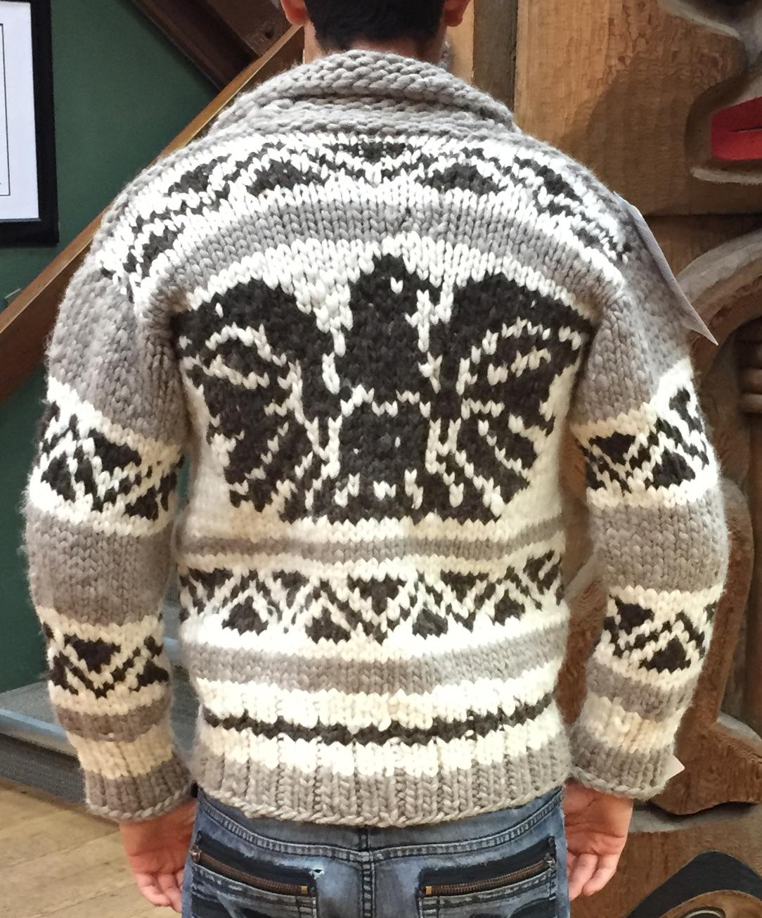 Genuine Handmade Cowichan Sweater